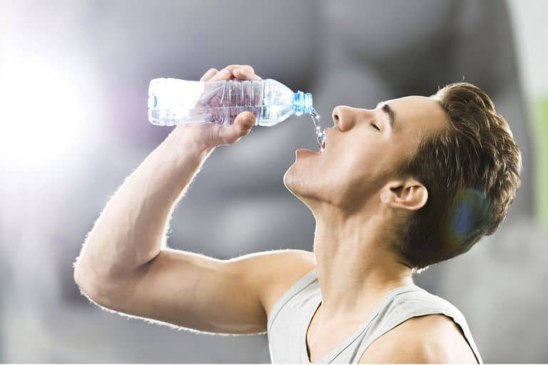 drink water to build the perfect physique
