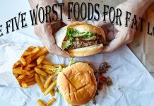 The five worst foods for fat loss