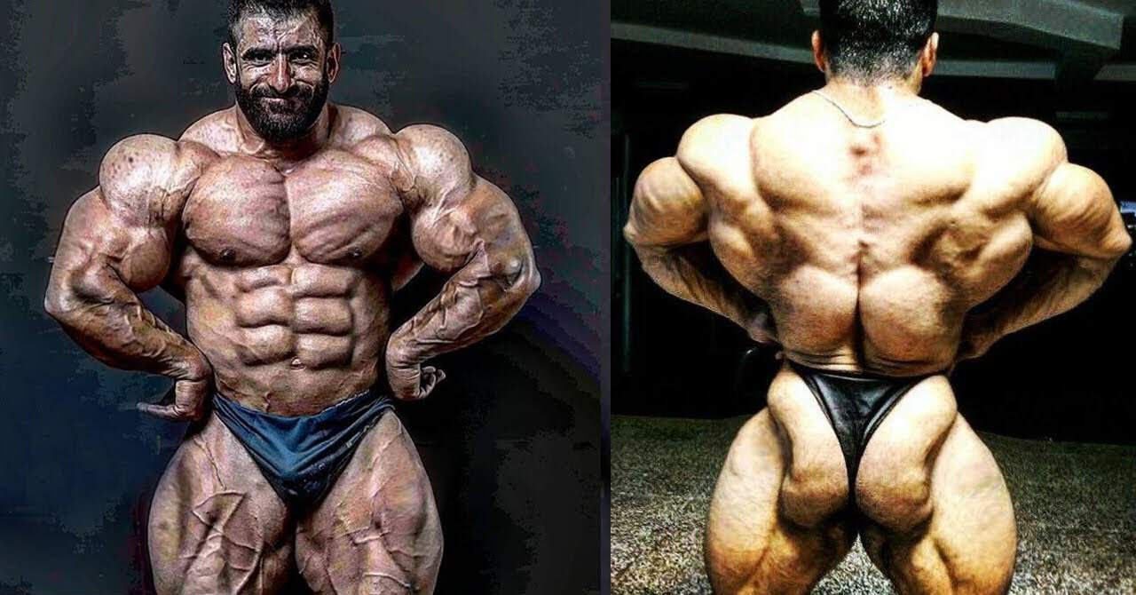 hadi choopan finally in the Mr. Olympia 2019