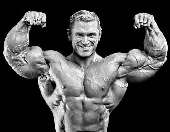 big biceps lee priest